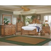 Progressive Furniture Palm Court Poster Bed   Island Pine   Transform Your  Bedroom Into A Romantic Tropical Getaway. The Palm Court Poster Bed   Island  Pine ...