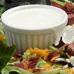 Absolutely the BEST Rich and Creamy Blue Cheese Dressing Ever! - Allrecipes.com