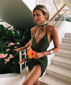 strappy, short, & tight dress