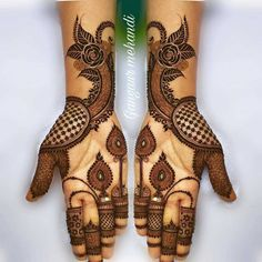 Explore Best Mehendi Designs and share with your friends. It's simple Mehendi Designs which can be easy to use. Find more Mehndi Designs , Simple Mehendi Designs, Pakistani Mehendi Designs, Arabic Mehendi Designs here. Latest Bridal Mehndi Designs, Full Hand Mehndi Designs, Stylish Mehndi Designs, Mehndi Designs 2018, Henna Art Designs, Wedding Mehndi Designs, Beautiful Henna Designs, Mehandhi Designs, Beautiful Beautiful