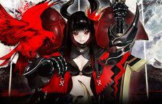 Anime - Black Rock Shooter - Black Gold Saw Wallpaper