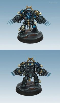 Space Hulk Terminator Brother Claudio