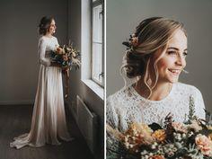 Boheemit talvihäät – stailattu hääkuvaus Epaalan Anselmilla Lace Wedding, Wedding Dresses, Fashion, Bride Dresses, Moda, Bridal Gowns, Fashion Styles, Wedding Dressses