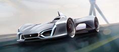 Jaguar C-X95 on Behance