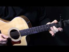 "how to play ""Landslide"" live solo on acoustic guitar by Fleetwood Mac Lindsey Buckingham lesson Fingerstyle Guitar Lessons, Acoustic Guitar Lessons, Guitar Tips, Guitar Chords, Ukulele, Guitar Solo, Music Guitar, Playing Guitar, Learning Guitar"