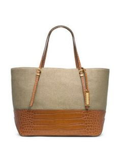 Michael Kors Large Gia Slouchy Two-Tone Tote | ACCESSORIES SHOW� |  Pinterest | Michael kors, Bag and Purse