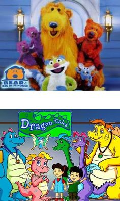 Bear in the Big Blue House, Dragon Tales