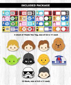 Paquete fiesta Star Wars Star Wars Pack fiesta por KidzParty