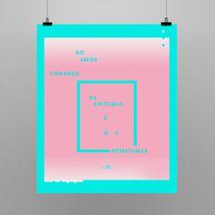 Poster em homenagem ao grande escritor brasileiro Paulo Leminski. 55x66cm Shop: locomattive.com.br