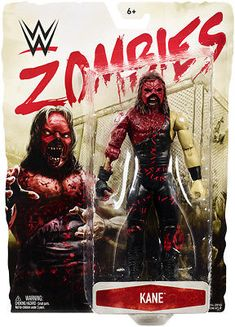 Mattel WWE Zombies Kane Action Figure 2018 for sale online Wwe Action Figures, Custom Action Figures, Wrestling Superstars, Wrestling Wwe, Easy Face Painting Designs, Kane Wwe, Spiderman Suits, Wwe Toys, Wwe Womens
