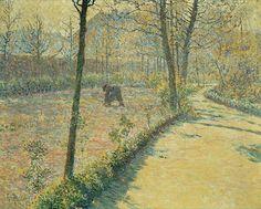 Georges Morren (Belgian, 1868-1941), Spring Morning, 1892