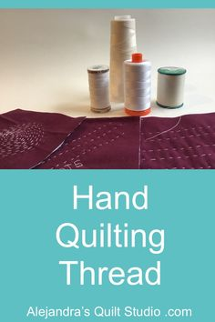 Hand Quilting Thread Quilting Thread, Hand Quilting, Quilting Ideas, Ale, Quilt Studio, Quilts, Pattern, Scrappy Quilts, Hands