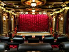 Home Theater Designs From CEDIA 2014 Finalists   HGTV