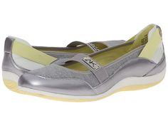 Anne Klein Anne Klein  Watchful Silver Elastic Womens Slip on Shoes for 31.99 at Im in!