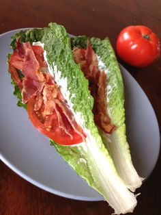 Breadless BLT | Our Paleo Life  make this with bibb lettuce and into lettuce wraps... YESSSSS!