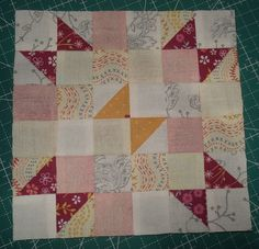 Sue's Quilty Bits and Bobs: Splendid Sampler Block 2 - Wings