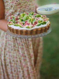 Mascarponecheesecake med Fikon / Bakverk ~ Recept | Leila Lindholm (leila.se)