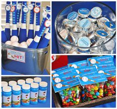 """Photo 3 of 6: Baseball / Birthday """"Landon's Baseball Party was a HIT!""""   Catch My Party"""