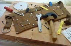 Tool Belt Birthday Cake cakepins.com