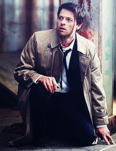 *cuddles Castiel and wipes his blood away and puts band-aids on his wounds and wuvs him endlessly*
