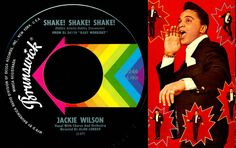 """38) JACKIE WILSON - Shake! Shake! Shake!   From the album """"Baby Workout"""", this was a moderate hit on both sides of the Atlantic, but deserved better than a peak position of #33, I think."""