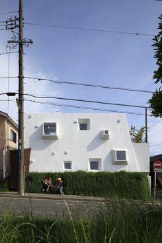 アトリエ ルクス 一級建築士事務所 壁面緑化による環境負荷の少ない住宅  http://www.kenchikukenken.co.jp/works/1380763988/756/