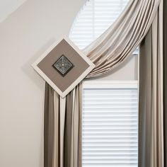 """""""What can we design for you? Arched Window Treatments, Arched Windows, Improve Yourself, Curtains, Interior Design, Home Decor, Bow Windows, Nest Design, Blinds"""