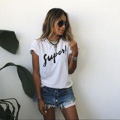 tshirt-short-jeans-maxi-colar-look-moda-2016