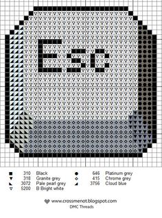Escape-button cross stitch - joke gift for those times you really need an escape button!