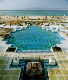 fantastic example of a resort pool hope this help with design ...