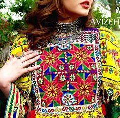 Afghan's traditional dress.