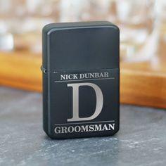 Personalized Engraved Groomsmen Lighter