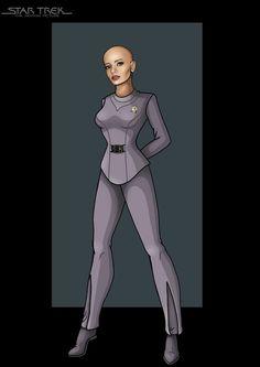lieutenant ilia by nightwing1975.deviantart.com on @deviantART