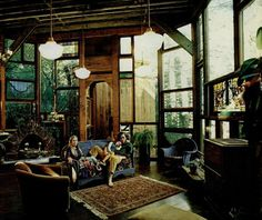 Beautiful bohemian (actually hippie) home. Just found this pin on pinterest, in 2013, and I have this original article from the Sunday San Francisco Chronicle, that I saved, circa 1973! ;-)