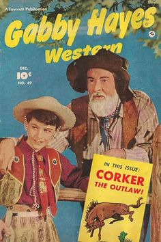 Gabby Hayes western comics