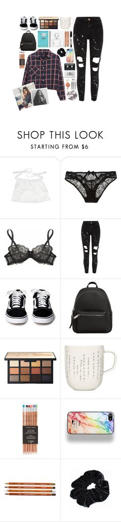 """{ ' Make no mistake, I live in a prison That I built myself, it is my religion ]"" by br0kenrobbers ❤ liked on Polyvore featuring L'Agent By Agent Provocateur, MANGO, iittala, Zero Gravity, CASSETTE, Sharpie and Chicnova Fashion"