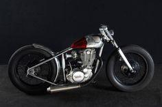 Yamaha SR 400 by Shallow Motorcycles | Japan