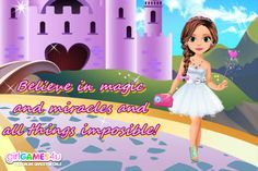 #Beautiful #magic moments! ***  #Game's link: http://www.girlgames4u.com/little-princess-magic-makeover-game.html ✿ ✿ ✿