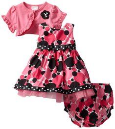 Youngland Baby-Girls Newborn Cardigan Dress Multi Dot -  Buy New: $19.20 - $24.00