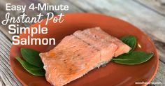 Who says you have to go to a fancy restaurant to get delicious salmon? Discover how easy it is to perfectly cook frozen salmon in your Instant Pot.