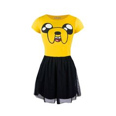 Adventure Time Jake fit & flare dress