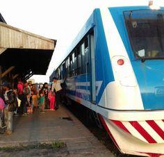 CRÓNICA FERROVIARIA: Chaco: Nueva unidad de coche motor para el servici...