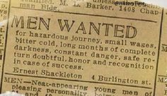 Shackleton's Antarctic expedition - Would you apply? Embedded image permalink
