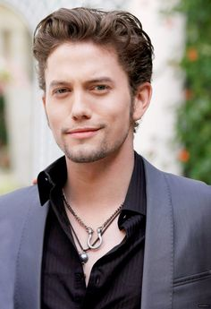 Jackson Rathbone. Twilight was a sucky movie but this dude was really cute in it.