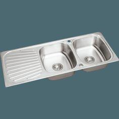 Sauber Stainless Steel Kitchen Sink 2 Bowl