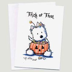 Trick or Treat by Kim Niles @ KiniArt.com