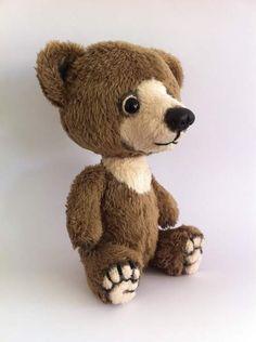 Foe Sale Mini teddy bear Cappuccino (OOAK) by By RusaLena | Bear Pile