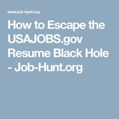 Usajobs Resume Builder Tips How To Apply For A Federal Job  Federal Resume  The Muse .