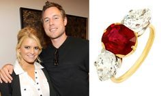 Get engagement ring inspiration from your favorite celebrity couple by browsing the gallery of celebrity engagement ring photos from deBebians. Celebrity Engagement Rings, Engagement Ring Photos, Celebrity Couples, Diamond Engagement Rings, Vintage Rings, Wedding Dress, Bling, Brooch, Jewellery