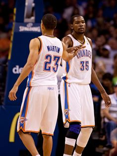 KD & KMart Thunder vs. Blazers | THE OFFICIAL SITE OF THE OKLAHOMA CITY THUNDER
